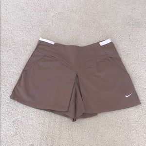 Nike golf skorts mini skirt